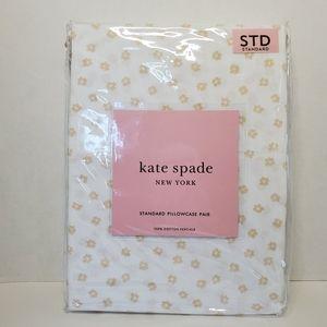 Kate Spade Standard Floral Pillowcases 2 in Bag